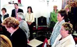 Pedro Vega fue despedido en un multitudinario acto civil que se celebró en el tanatorio de Plasencia