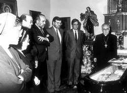 Biografía ilustrada del último medio siglo de Santa María, escenario de ceremonias simbólicas durante décadas