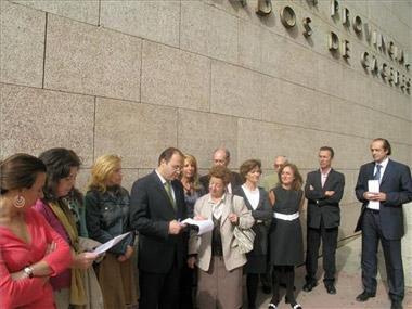Los juicios suspendidos en Extremadura por el paro de los secretarios judiciales han sido 34