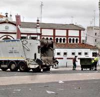 Los trabajadores de limpieza de Almendralejo empiezan esta noche una huelga para pedir un aumento salarial