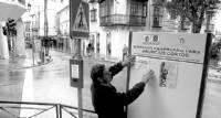 El ayuntamiento de Cáceres colocará 20 paneles en Cánovas para anuncios callejeros