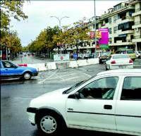 Retoman las obras en el bulevar entre quejas de los ciudadanos por falta de información y aparcamientos