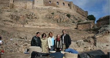 Las excavaciones del Teatro Romano de Medellín han descubierto nuevos hallazgos de un conjunto monumental