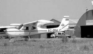 Propietarios del aeródromo en La Cervera piden a Fomento la reversión del terreno expropiado en 1976