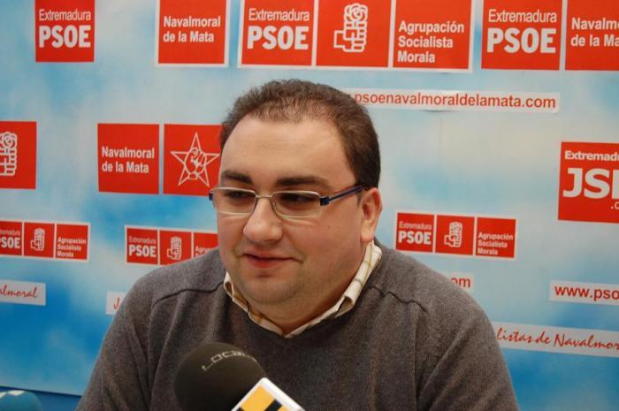 Lino González Melitón es elegido nuevo secretario general del PSOE de Navalmoral de la Mata