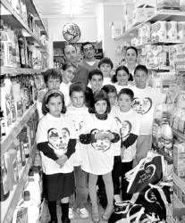 Los escolares del colegio Zurbarán de  Don Benito participan en una campaña sobre alimentación saludable