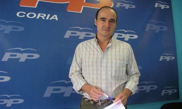 El PP de Coria presenta un recurso en el ayuntamiento para pedir que se anule el pliego para privatizar el agua