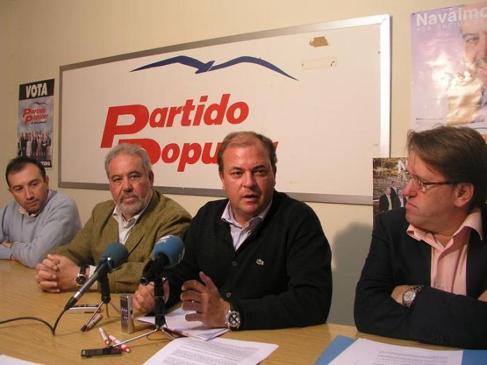 José Antonio Monago apoya el trasvase de Valdecañas al río Segura de Murcia solo si el agua es «para beber»