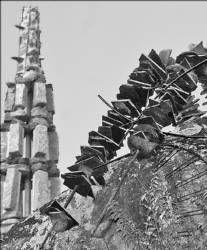 Un grupo de vándalos provocan varios daños al museo al aire libre del Berrocal en Plasencia