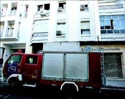 Fallece la madre del concejal del consistorio de Mérida, Fernando Molina, en un incendio en su vivienda