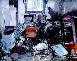 La policía de Mérida sostiene que un fallo eléctrico provocó el incendio en el que murió la madre del edil del PP