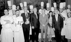 Doce restaurantes de la provincia demuestran en el hotel Alfonso XIII la calidad de los fogones extremeños