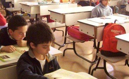 Paro simbólico en el Instituto de Educación Secundaria San Miguel por la falta de calefacción
