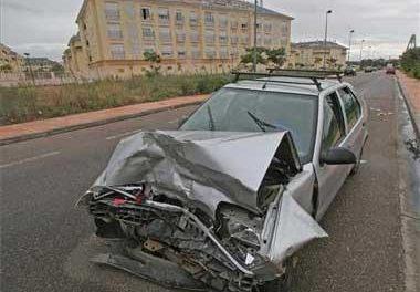 Cuatro menores y tres adultos heridos es el balance de cuatro accidentes ocurridos en Badajoz