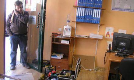 Las oficinas de la empresa de construcciones Procohergo sufren un robo de noche en la localidad cauriense