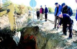 Abren una nueva fosa en Valverde de la Vera para buscar a cinco fusilados de la época franquista.