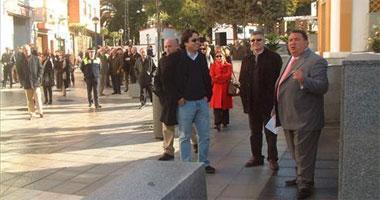 La calle Francisco Pizarro de Almendralejo se abre al tráfico tras siete meses de obras de reformas