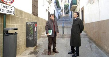 Iberdrola ultima el plan de soterramiento de todo el cableado del centro histórico de Cáceres