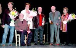 Cálido homenaje a toda una vida dedicada a la mina en el IV Festival de Flamenco en Aldea Moret