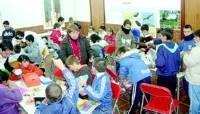 Escolares del colegio Montero de Espinosa de Almendralejo participan en talleres en Las Aguas