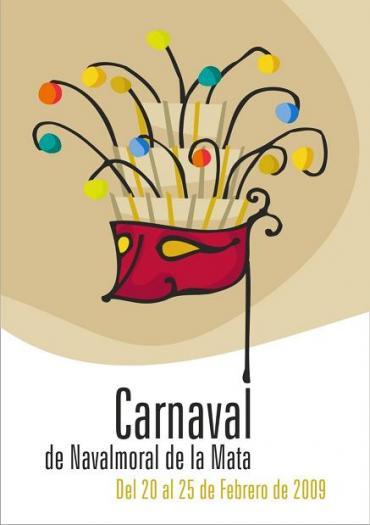 El cartel ´Fuente de alegría´ se alza como ganador del concurso del Carnaval de Navalmoral de la Mata