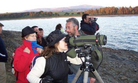 Las jornadas de aves invernantes del Borbollón incluyen el sábado un encuentro turístico