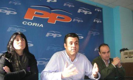 El PP de Coria propone siete proyectos de obras al PSOE para que se ejecuten con Fondos de Inversión Local