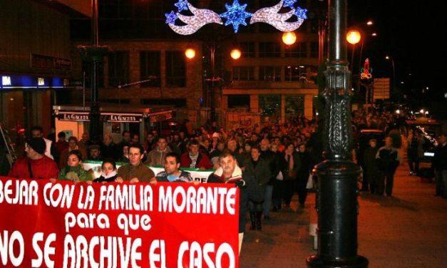 Los vecinos de Béjar se manifiestan para pedir que se siga buscando al joven José Luis Morante