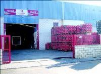 Roban dinero y materiales en dos naves industriales del polígono industrial de la carretera de Badajoz Ex-300