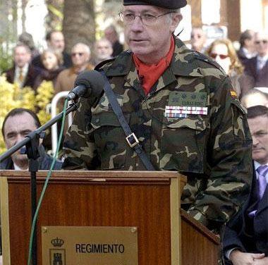 El Regimiento Castilla conmemora en Badajoz los 125 años que lleva asentado en la capital pacense
