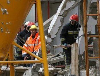 La víctima extremeña del hotel derrubado en Mallorca es trasladado a Santa Marta y será enterrado esta tarde