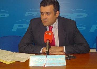 José Manuel García Ballestero acudirá al Foro de Militantes del PP junto con Sáenz de Santamaría