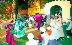 El Gurugú escenifica el belén viviente como hace 40 años con la participación de personas de todas las edades