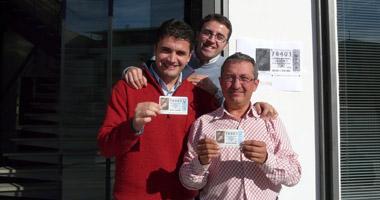 Unos 2.000 trabajadores del Grupo Gallardo ganan tres millones de euros con el número 78.401