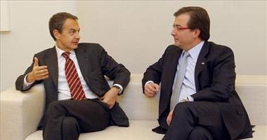 Zapatero anuncia a Vara que pretende cerrar el modelo de financiación a finales de enero