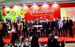 El fútbol logra la mayoría de los premios de la gala del deporte celebrada en Villanueva de la Serena