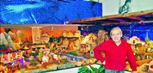 El Belén de Carlos Miguel Iglesias Hinojal se alza con el primer premio del concurso de belenes de Cáceres