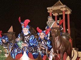 La tradicional cabalgata de los Reyes Magos tendrá en Mérida 28 carrozas y 16 pasacalles