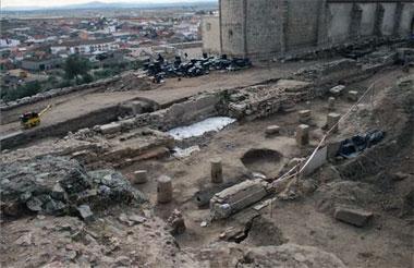 La segunda fase de la excavación del Teatro Romano de Medellín prepara el recinto para ser visitado