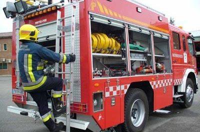 El Sepei ultima el parque de bomberos de Valencia de Alcántara que comenzará a funcionar en febrero
