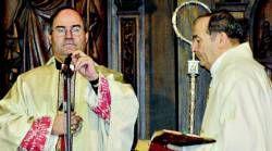 El obispo, Francisco Cerro, da la bienvenida al nuevo año con una homilía en Santa María sobre la paz