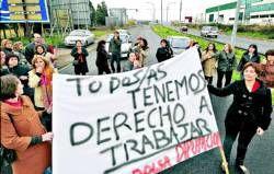 La cesión del psiquiátrico de Plasencia de la diputación a la Junta deja a más de cien eventuales en paro