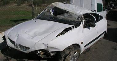 Casi un centenar de personas, en concreto 97, murieron en las carreteras extremeñas en 2008