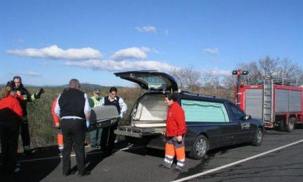 Vecinos de La Moheda y de la comarca despiden al joven de 21 años fallecido ayer en un accidente de tráfico
