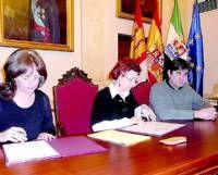 La parte antigua de Cáceres se convierte en una gran aula de formación para los alumnos hasta mayo