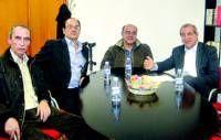 Representantes de la sección de UGT de la ONCE de Cáceres muestran su preocupación por el convenio