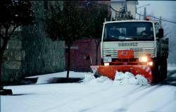 Meteorología y el Servicio de Emergencias del 112 activan la alerta naranja por fuertes nevadas en la zona norte