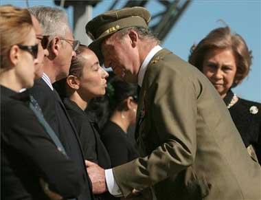 La familia del soldado Germán Pérez Burgos depositará este viernes sus cenizas en Alange