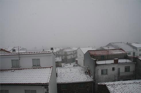 El Centro de Emergencias 112 advierte de la posibilidad de nevadas en puntos de la provincia de Cáceres