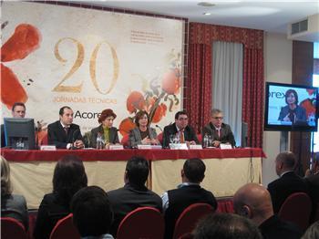 María Dolores Aguilar ha inaugurado esta mañana en Cáceres las XX Jornadas Técnicas de ACOREX
